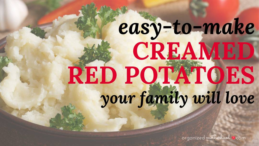 Creamed Red Potatoes with Herbs