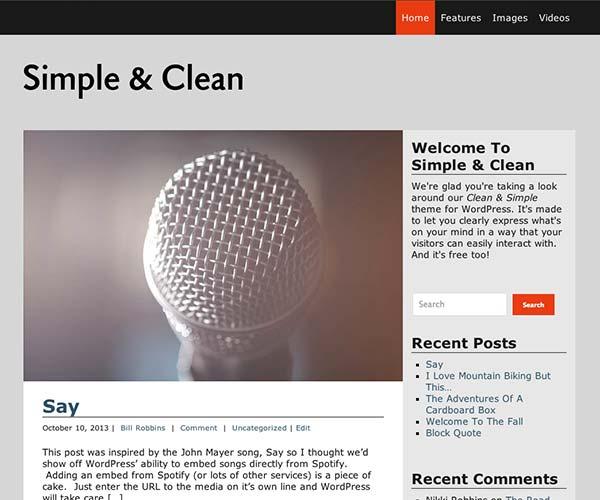 Simple & Clean