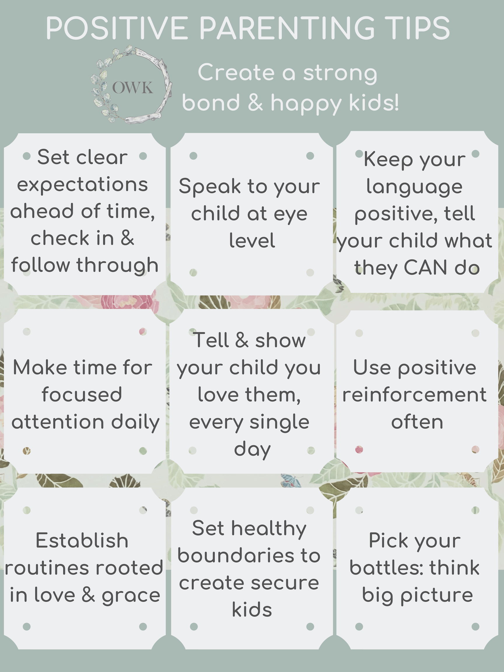 Positive Parenting Simple Strategies That Create A Strong