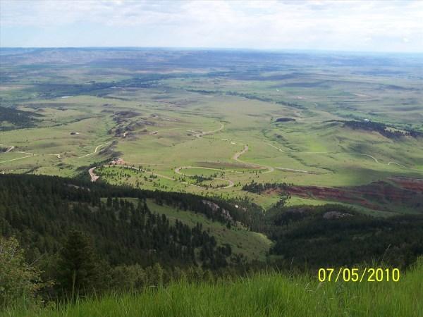 East of Yellowstone - Winding Roads