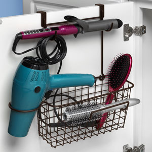over door hair organizer