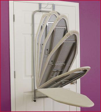Over-Door Ironing Board