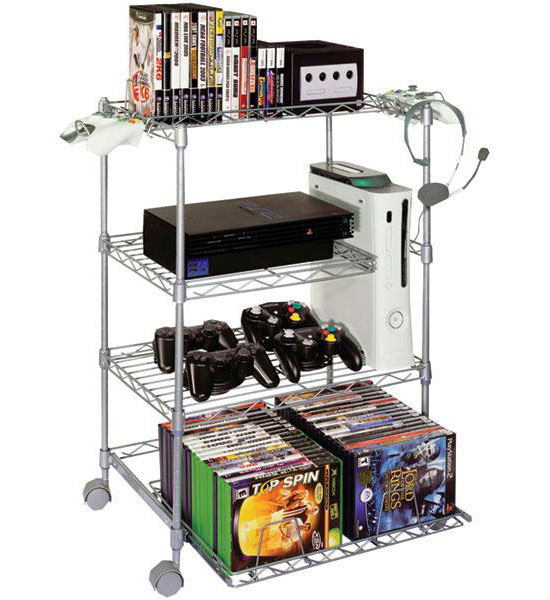 Game Keeper 4 Tier Wire Gaming Tower In Gaming Stands