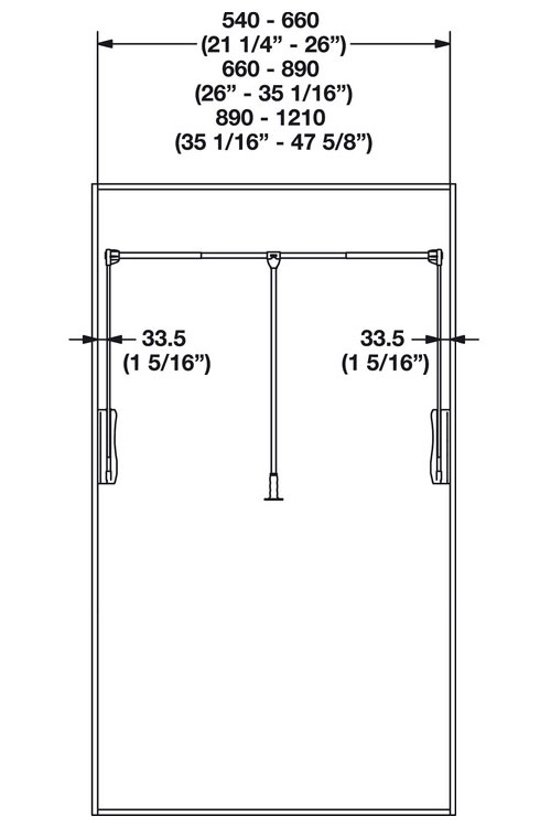 Standard Closet Rod Height Photo 2 Of 9 Resolutions The