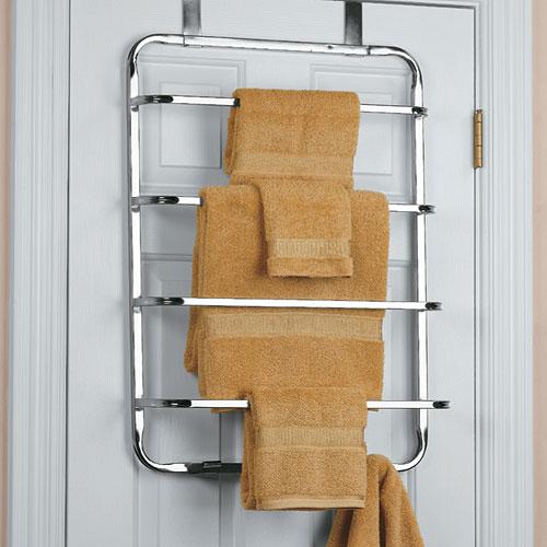 four tier over the door towel rack
