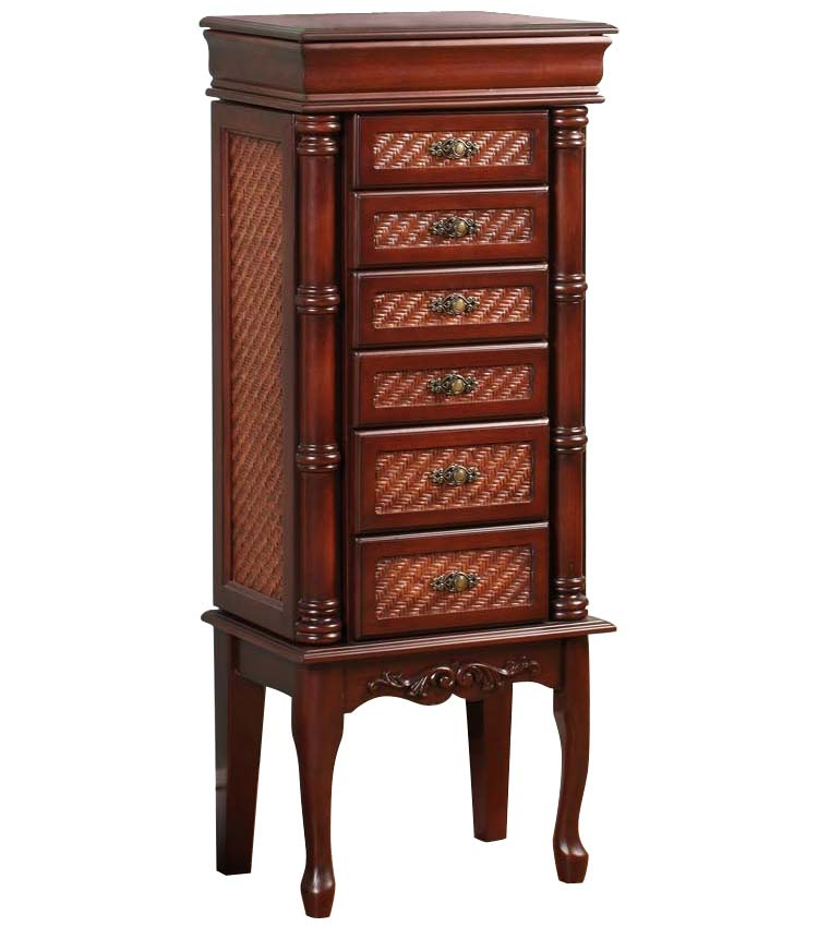 Standing Jewelry Armoire In Jewelry Armoires