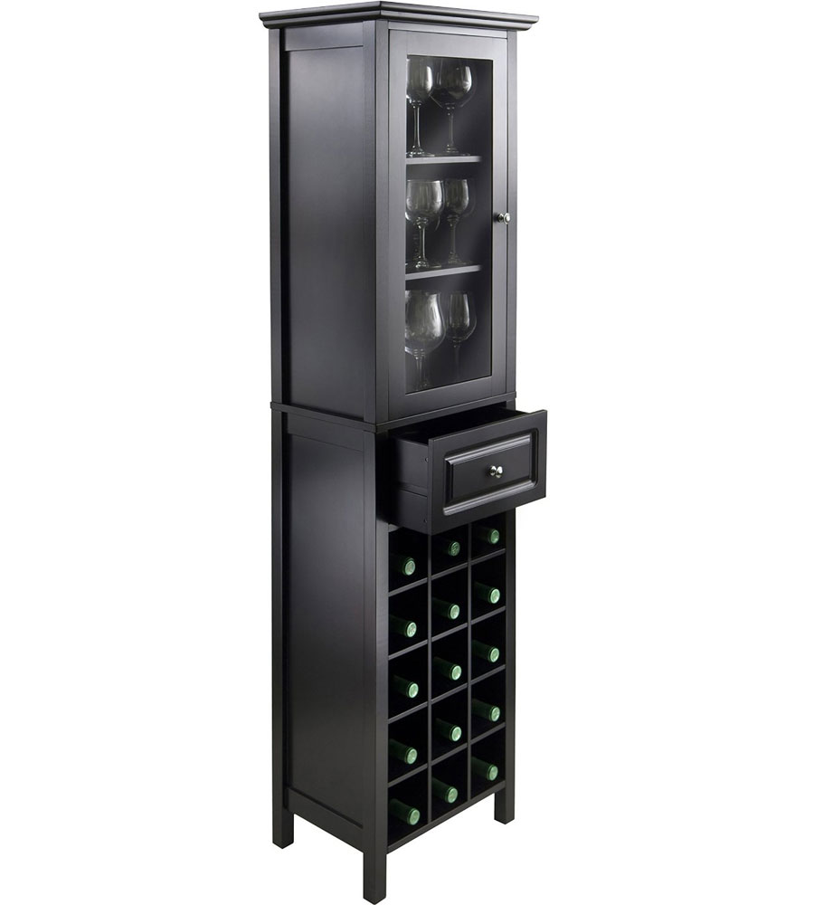 Tall Wine Cabinet In Wine Cabinets
