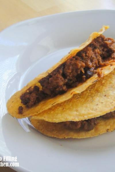 Slow Cooker Beef Taco Filling