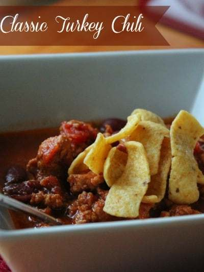 Slow Cooker Classic Turkey Chili