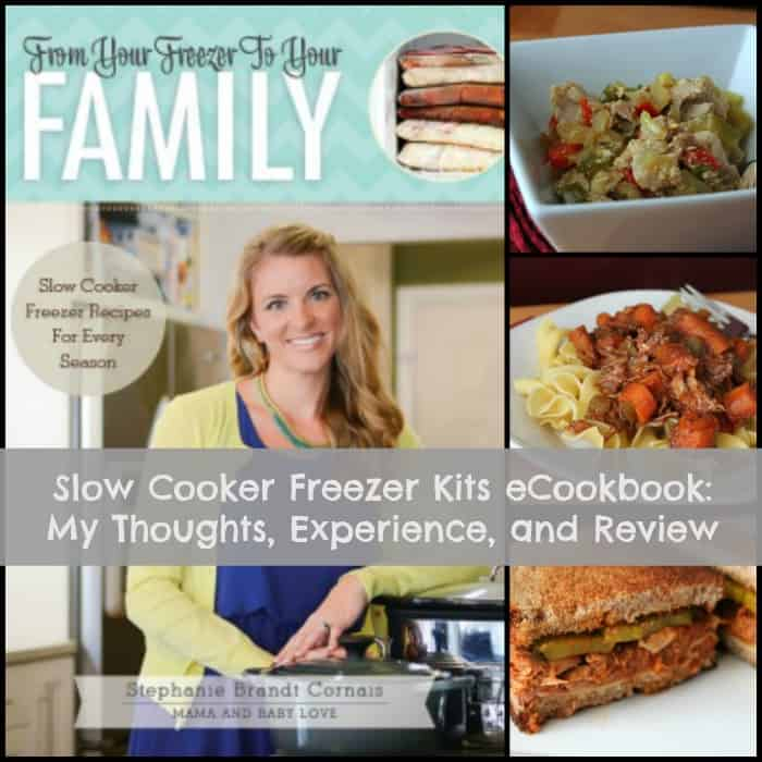 Slow Cooker Freezer Kits eCookbook Review