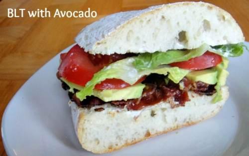 blt with avocado
