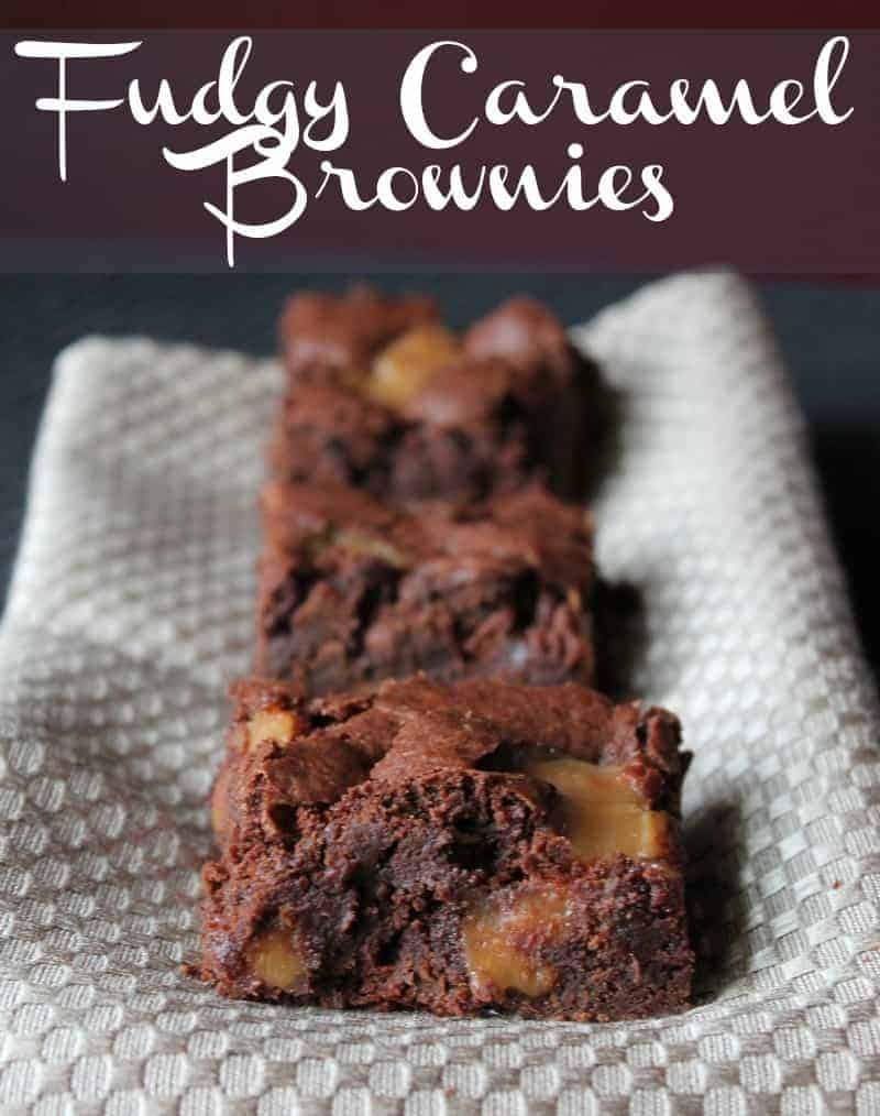 fudgy caramel brownies weight watchers recipe 198 calories and 6 weight watchers points plus or 4 old points per serving