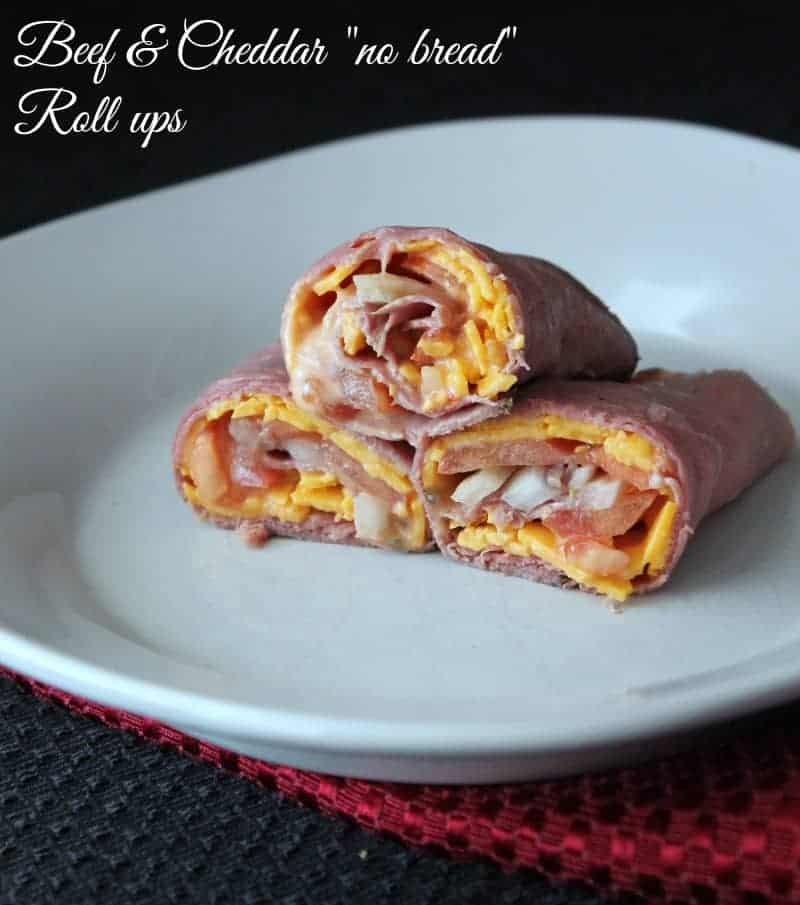 "Hams Egg Cheesy Bread Roll: Beef And Cheddar ""No Bread"" Roll Ups"