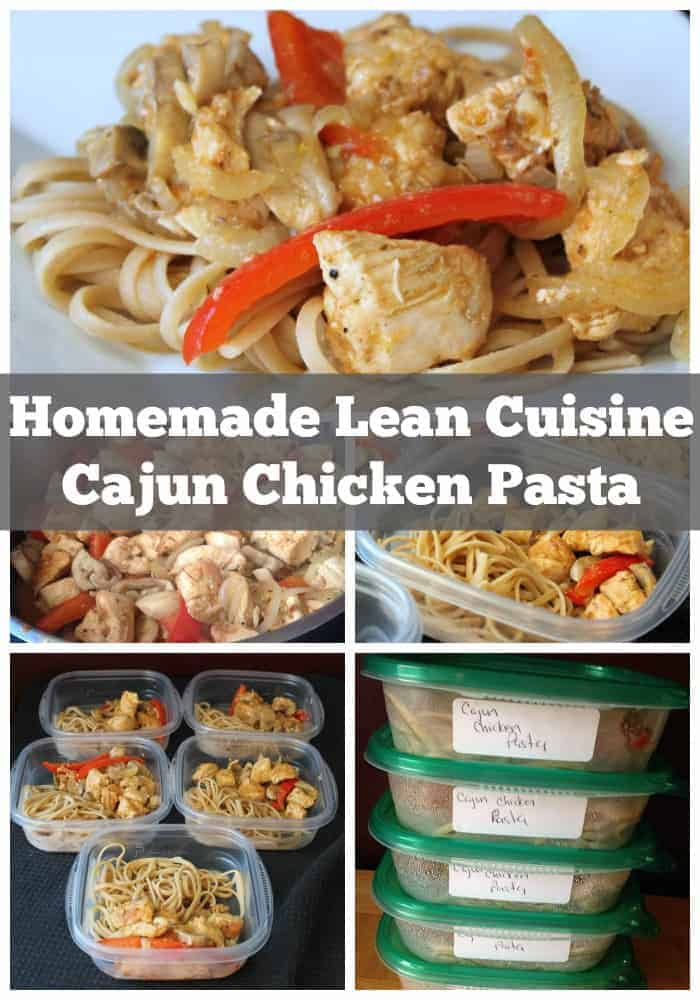 Cajun chicken pasta homemade lean cuisine instructions for Are lean cuisine meals good for weight loss