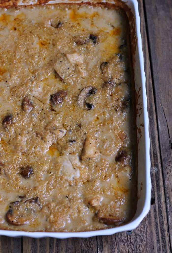 Quinoa Chicken Cajun-style Bake