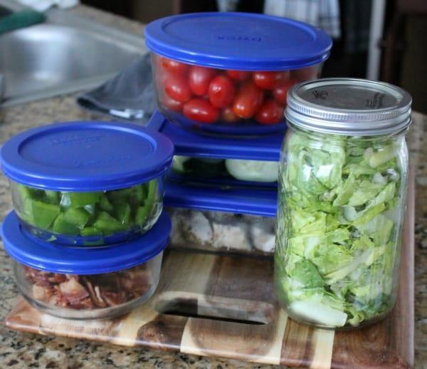 meal prep salad