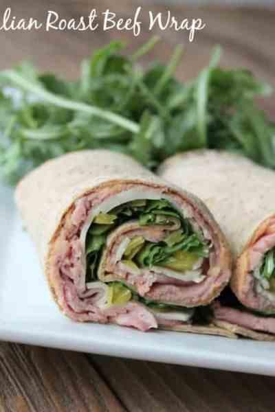 Italian Roast Beef Wrap