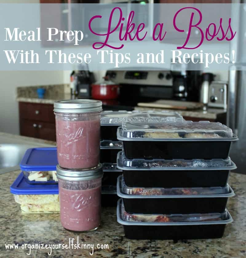Meal prep like a boss with these tips and recipes! This is the best collection of meal prep tips around!