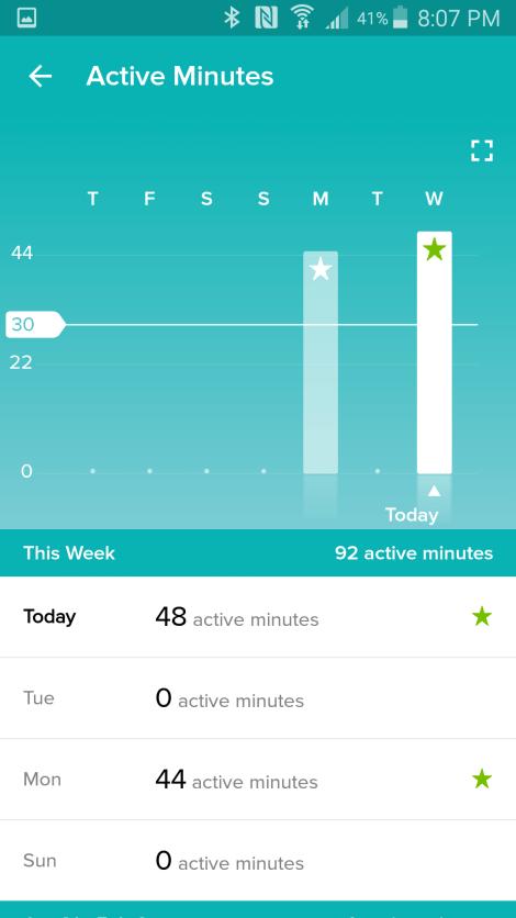Fitbit Screenshot 5