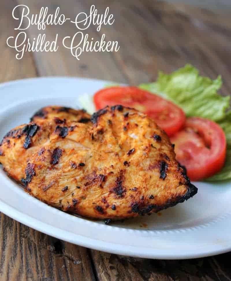 Buffalo Style Grilled Chicken