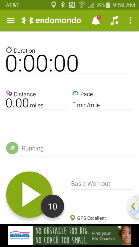 Endomondo Exercise app review