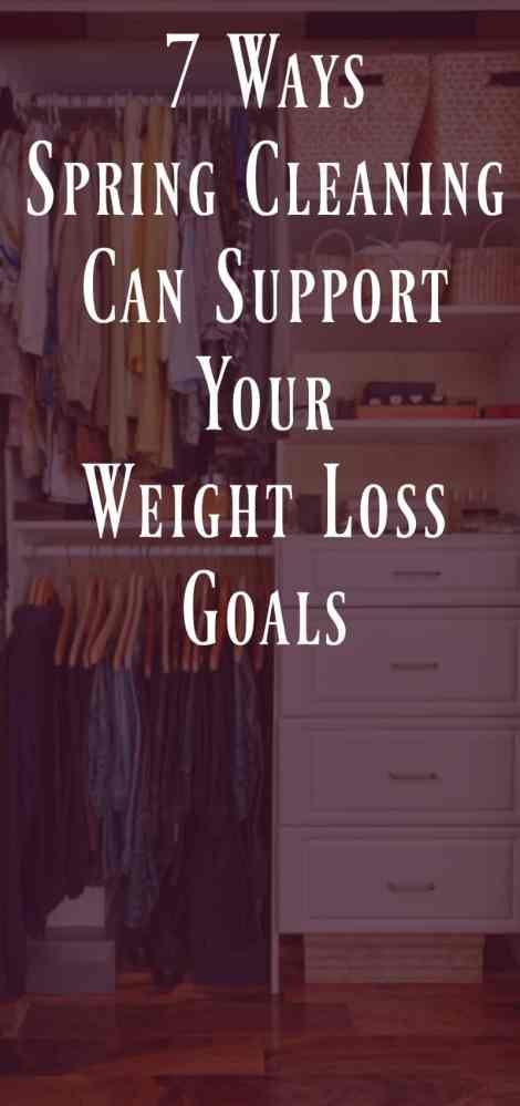 7 Ways Spring Cleaning Can Support Your Weight Loss Goals