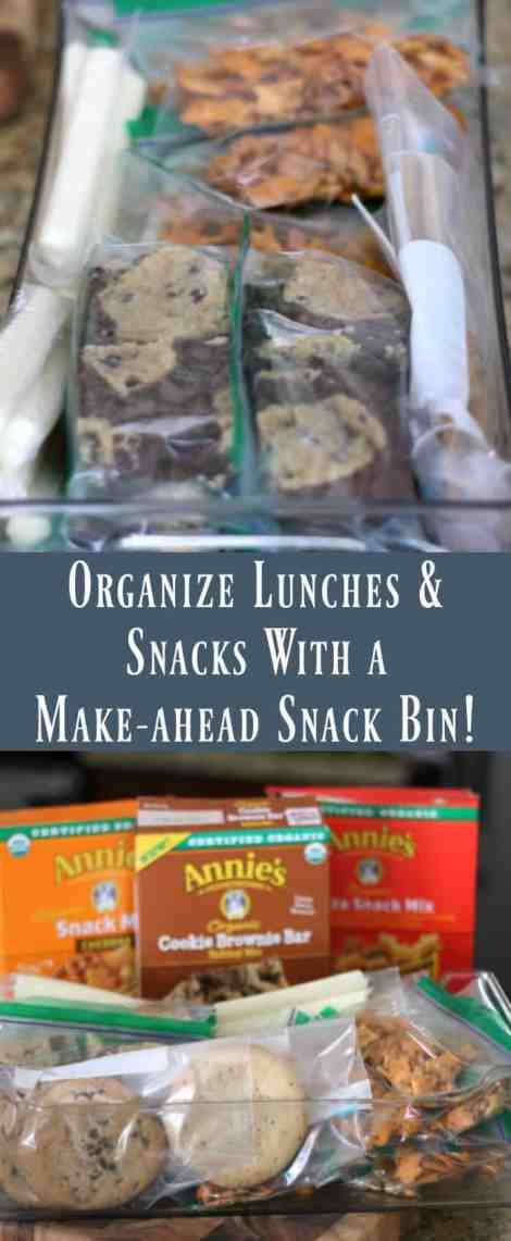 Organize Lunches & Snacks With A Make-ahead Snack Bin