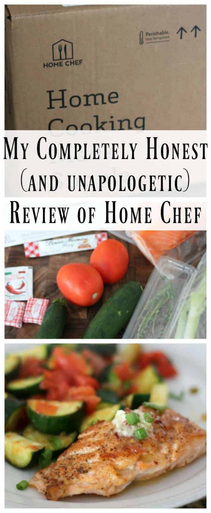 My Completely Honest (and apologetic) Review of Home Chef