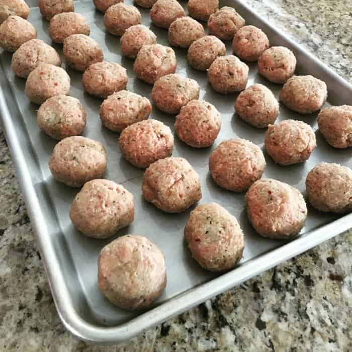 freeze meatballs