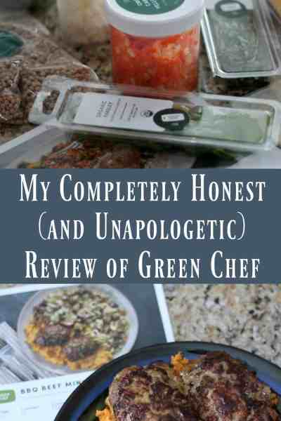 My Completely Honest (and Unapologetic) Green Chef Review