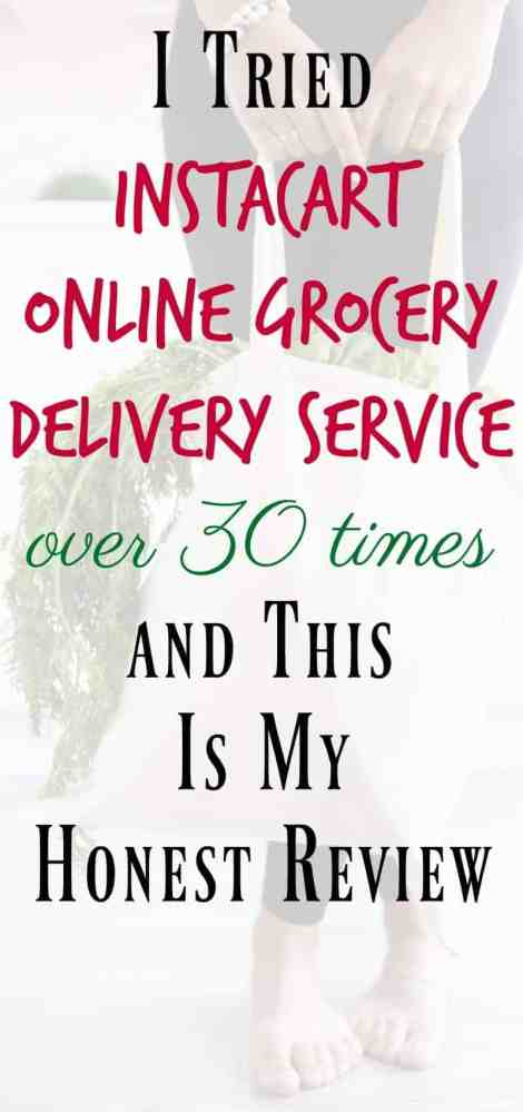 Instacart Online Grocery Delivery Service Review