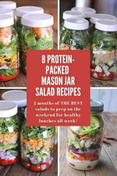 8 Protein-packed Mason Jar Salad Recipes You Need To Make This Weekend!