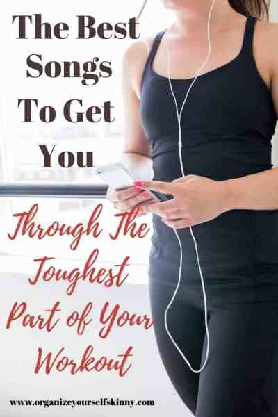 exercise songs to get you through the toughest part of your workout