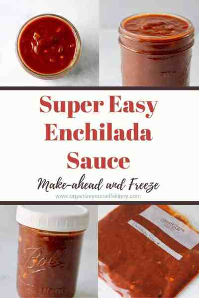 Easy Enchilada Sauce: Make-ahead Recipe