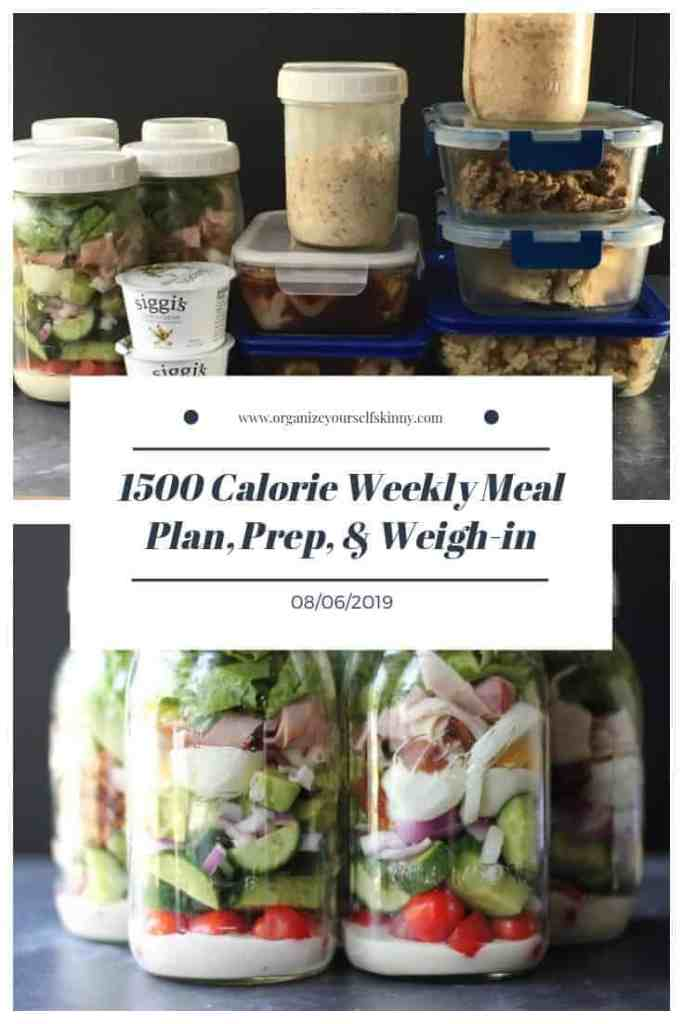 weekly make-ahead weight loss meal plan