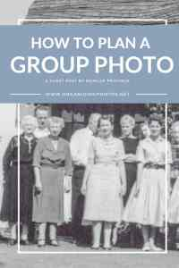 Upcoming Family Reunion? Here's How to Plan Your Group Photo!