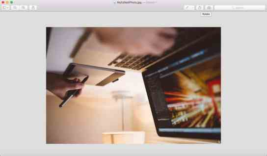 Native Organizing Part 4: Editing Your Photos in Preview