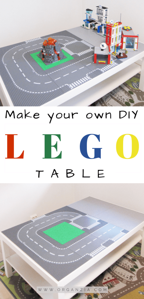 DIY Lego Table - Easy Ikea Hack!