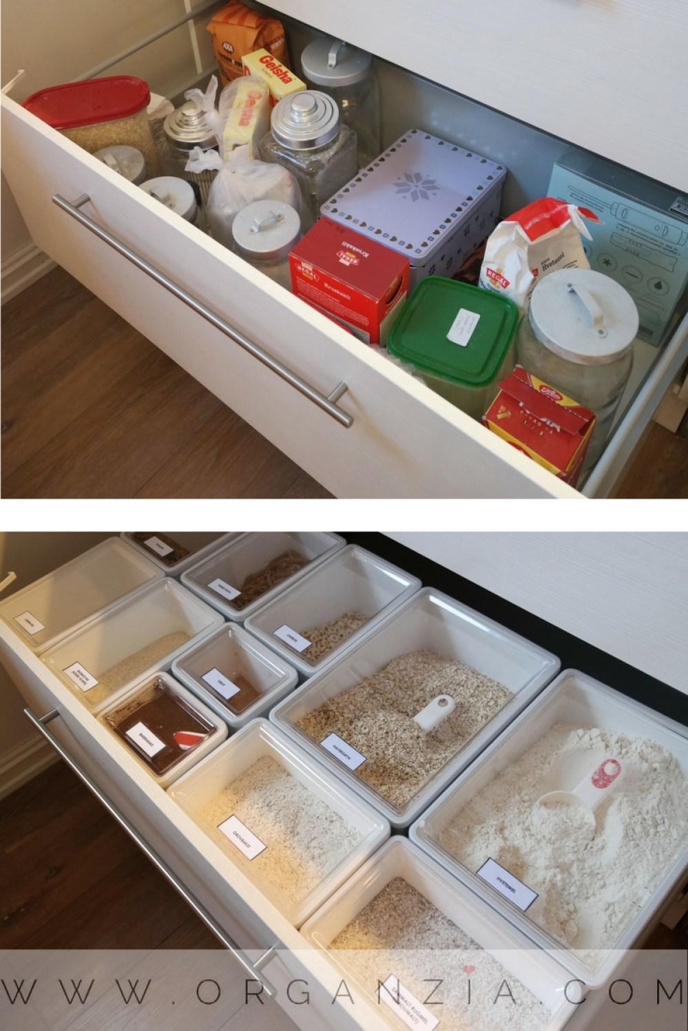 Organize the kitchen drawer