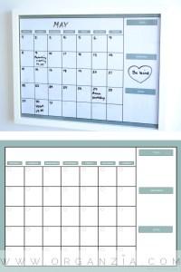 DIY monthly planner