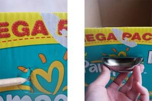 Instructions to make a storage box