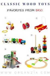 Classic wood toys Brio favorites