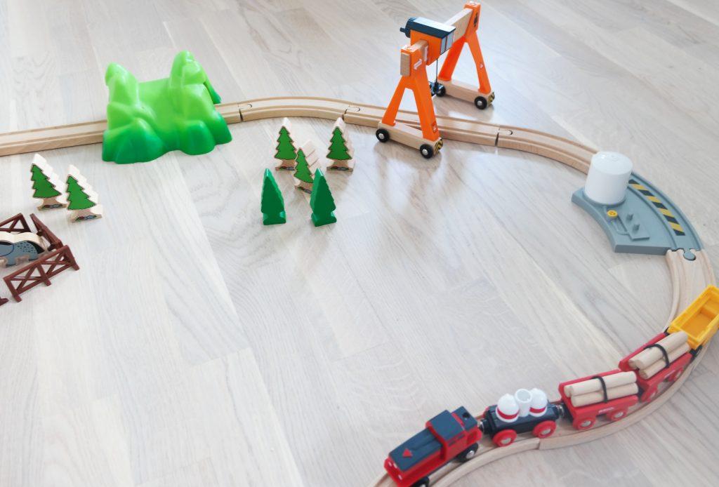 Brio train tracks
