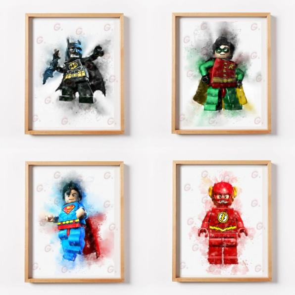 Printable Lego Art