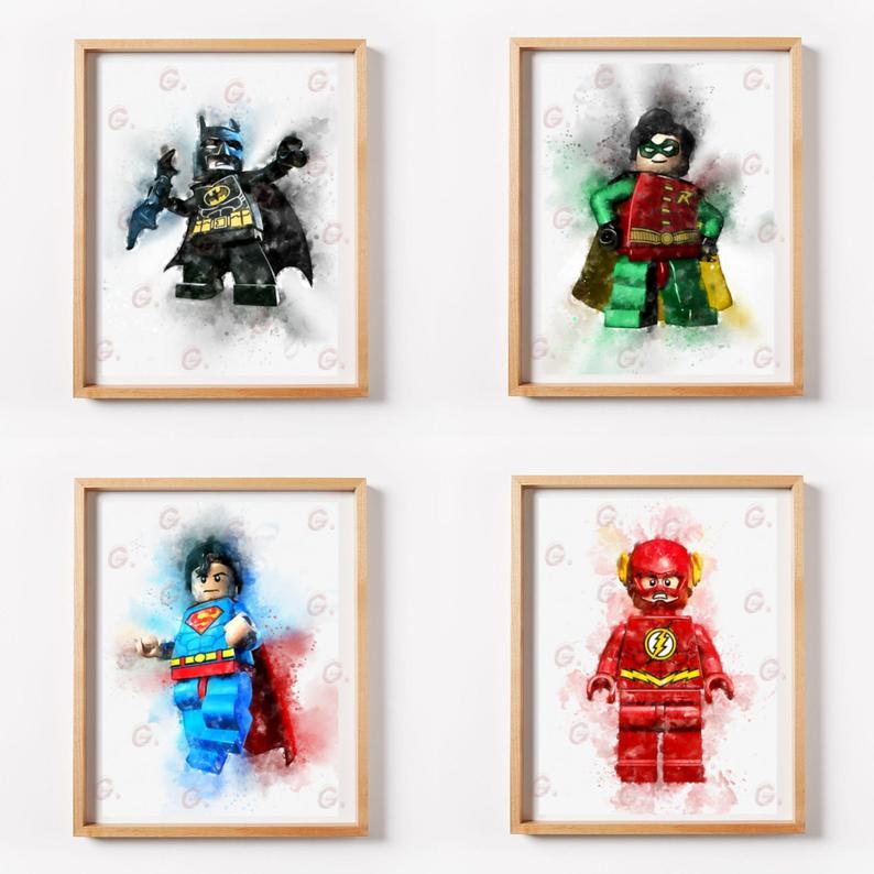 Printable Lego Art