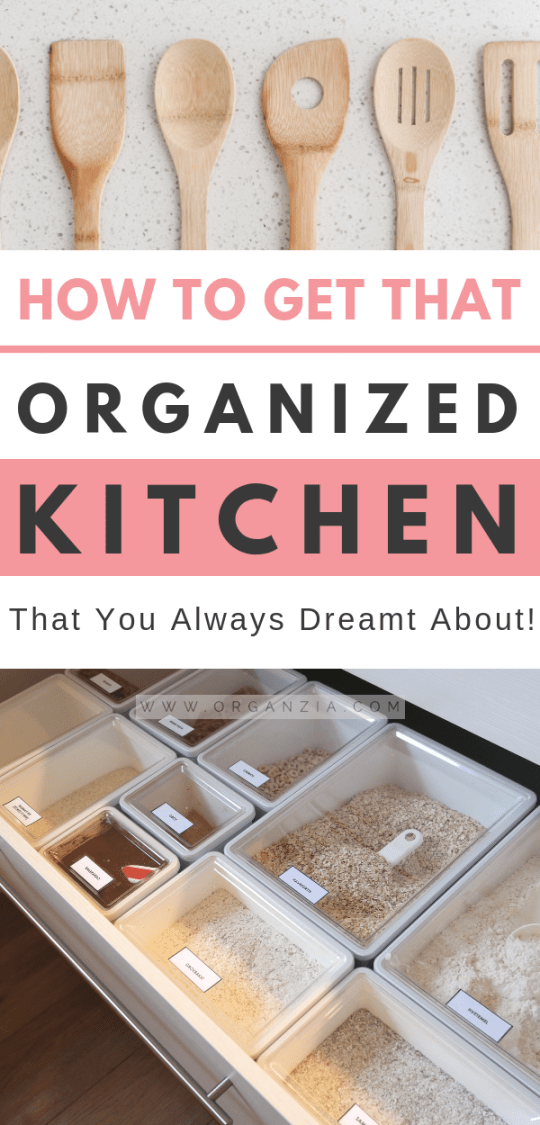 Organized Kitchen - 6 Simple Tips