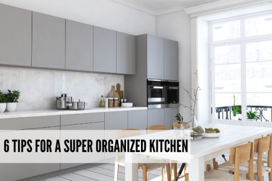 Kitchen organization tips simple