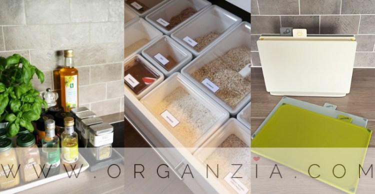 Organized kitchen organzia