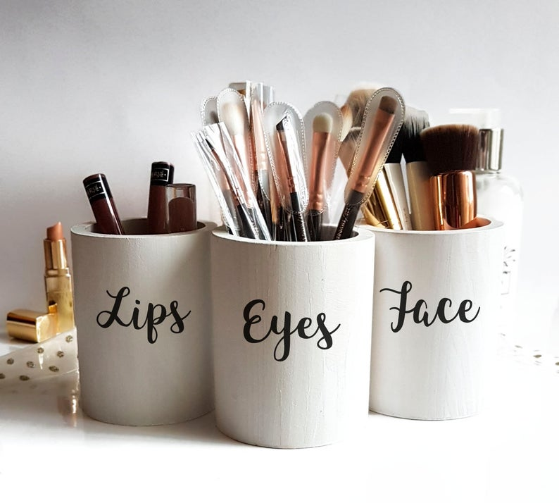 Makeup Brush holders set