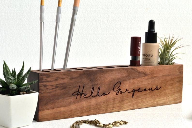 Makeup organizer custom